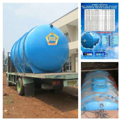stp system septic tank